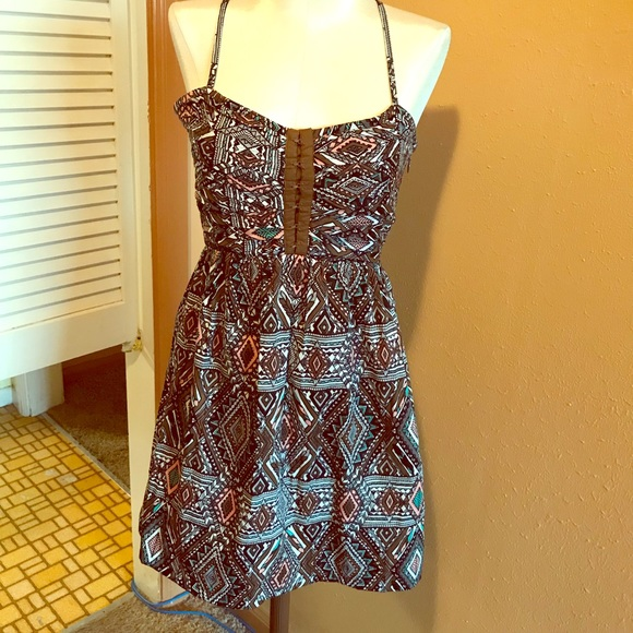 0c49508edc9 Billabong Sundress S Crisscross Straps Mini